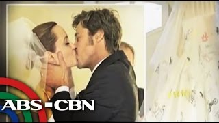 Brad Pitt, Angelina Jolie wedding photos