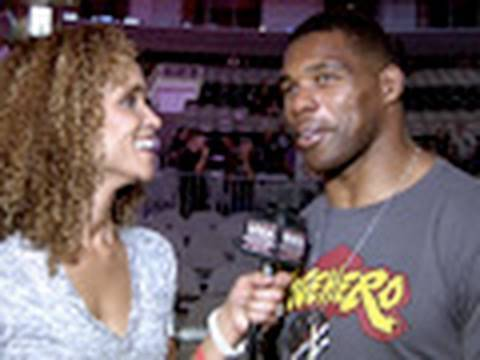 Herschel Walker talks training with Cung Le and his Rematch vs Scott Smith