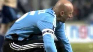 Fabien Barthez als Marseille-Keeper