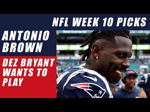Antonio Brown Tweets & Dez Bryant Wants to Play: NFL Week 10