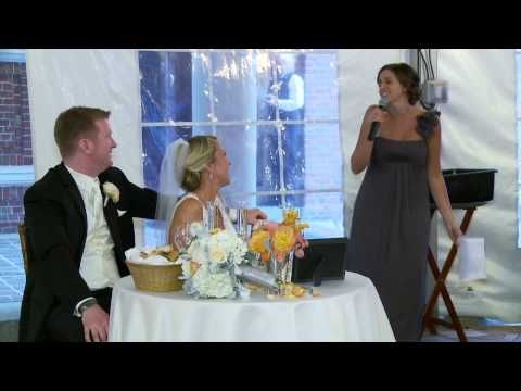 Michelle Gives the Greatest Wedding Toast Ever