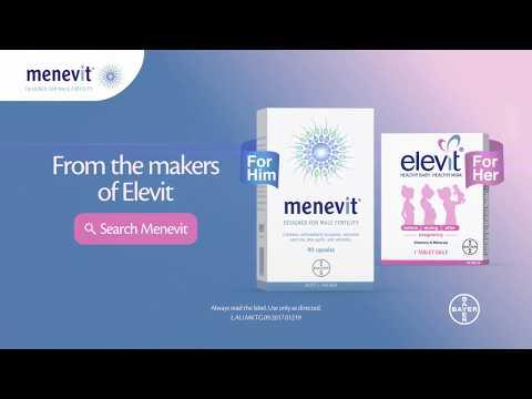 Menevit Helps Sperm Health & Male Fertility | Elevit