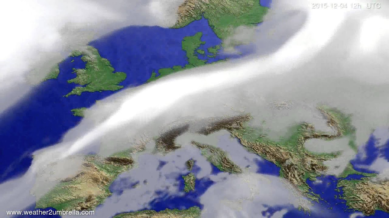 Cloud forecast Europe 2015-11-30