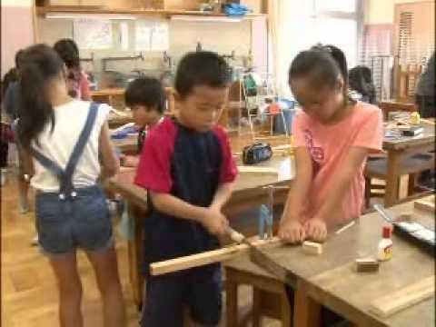 Elementary School Life in Japan - The School Day (видео)