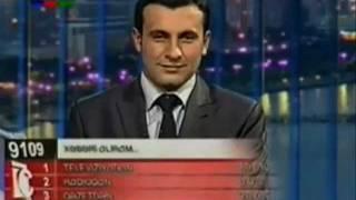 Azərbaycan televiziya kanallarından məzəli anlar (canlı yayım) Приколы на азербайджанском телевидении (прямой эфир)