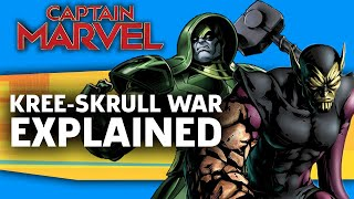 Video Captain Marvel: The Kree-Skrull War Explained MP3, 3GP, MP4, WEBM, AVI, FLV Desember 2018