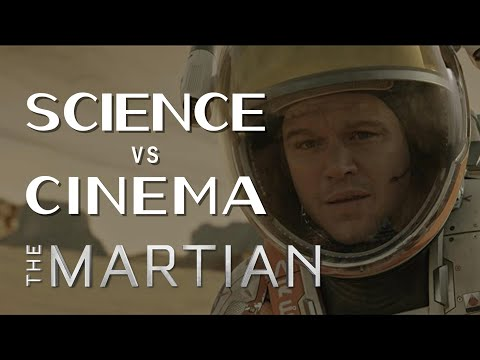 Science Vs Cinema The Martian