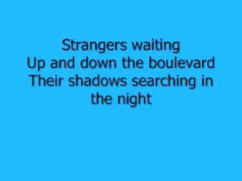 Journey - Don't Stop Believing Lyrics (видео)