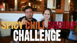 SPICY Chili Shrimp CHALLENGE