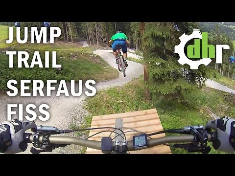 Bikepark Serfaus Fiss Ladis Jump Line Follow Up By Downhill-rangers.com