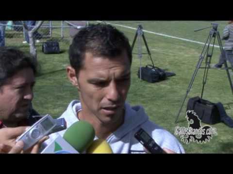 Adrián Romero habla sobre su posible salida del Queretaro.