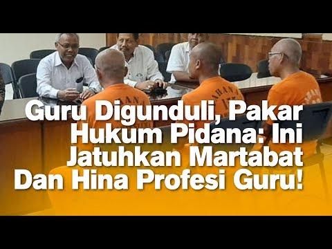 Guru Digunduli, Pakar Hukum Pidana: Ini Jatuhkan Martabat Dan Hina Profesi Guru!
