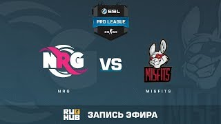 NRG vs Misfits - ESL Pro League S6 NA - de_overpass [KabUSH, Jay]
