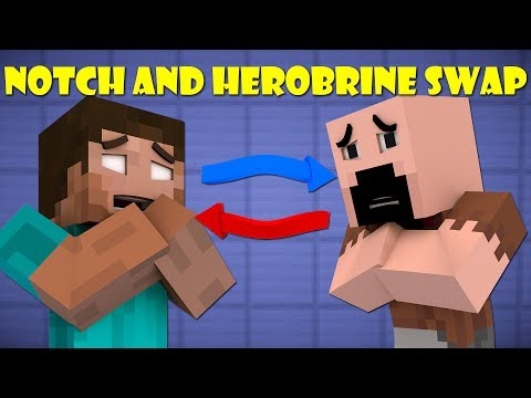 If Notch And Herobrine Swapped Bodies - Minecraft