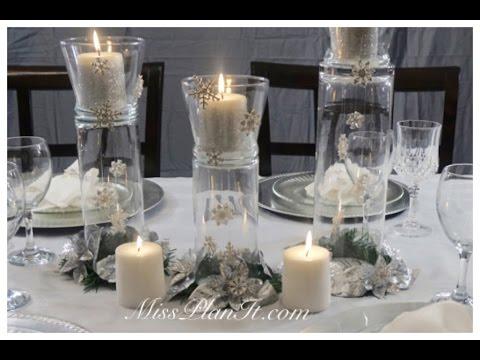 Pahuljice u vazi- uradi sam, ukras koji će krasiti centralni deo stola u novo...
