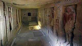 Egypt discovers untouched tomb in the ancient necropolis of Saqqara