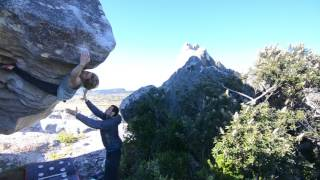 Mina-Leslie Wujastyk climbs The Pursuit of Happiness (8B), South Africa by teamBMC