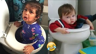 Video TRY NOT TO LAUGH (Impossible!) - Funny Kids Fails Compilation   BEST VINES MP3, 3GP, MP4, WEBM, AVI, FLV Juli 2019