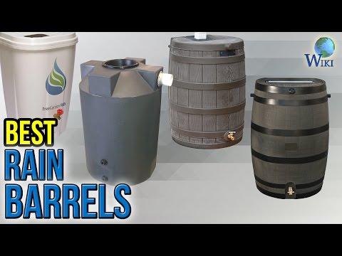 9 Best Rain Barrels 2017