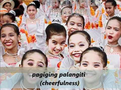 Filipino Values List Different Values of a Filipino
