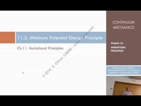 Continuum Mechanics – Ch11- Lecture 7 – Minimum Potential Energy Principle