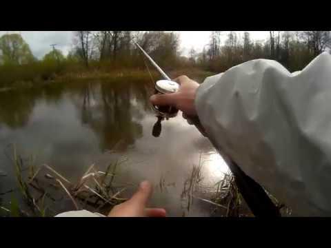 чем ловить на маленьких реках