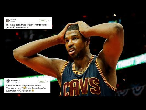 Cavs Fans PISSED at Tristan Thompson for Getting Khloe Kardashian Pregnant