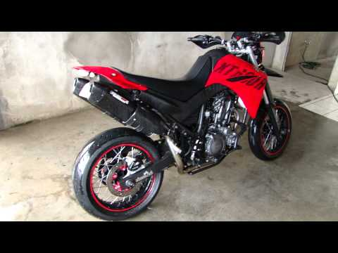 XT 660 MOTARD .Comandantes do asfalto!!! HD