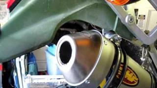 9. KLR650 with FMF Q4