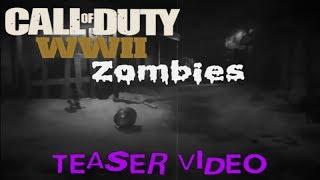 New WWII Zombies Intel Video Teaser (Secret WW2 Zombies Package Unboxing by Noahj456)