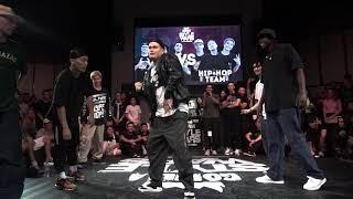 Hip-Hop Team vs Popping Team (Monsta Pop, Dauren, Arthur) – GORILLA STYLE WARS 2019 FINAL