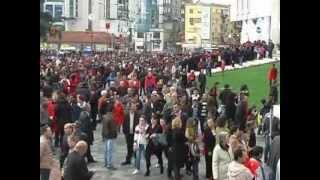 NIS FESTA NE TIRANE QYTETARET FESTOJNE 100 VJETORIN NE SHESHIN