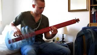 Home Made Bottle Bass Guitar