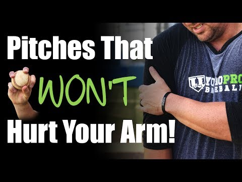 3 Baseball Pitches That Don't Hurt Your Arm!  [SAFE PITCHES FOR KIDS]
