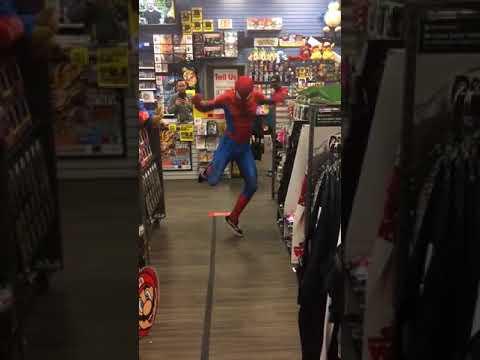 SpiderMan Bailando