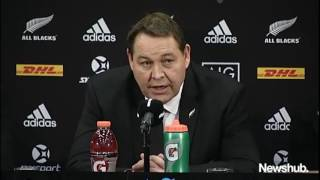"""""""It's a tough game to ref. We all know what happened and we all know probably what should've happened.""""See more: http://www.newshub.co.nz/home/lions-tour-2017/2017/07/lions-tour-all-blacks-tie-with-british-and-irish-lions-in-third-test-to-draw-series.htmlFor all footage licencing enquiries please visit: http://www.mediaworks.co.nz/home/contact-us/commercial-footage-request.html"""
