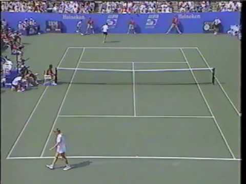 Steffi Graf- Backhand slice