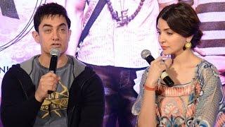Aamir Khan's PK Movie Team Press Meet @ Hyderabad - Peekay