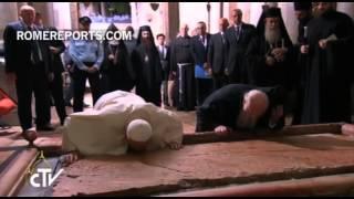 Апостольская поездка Папы Франциска на Святую Землю