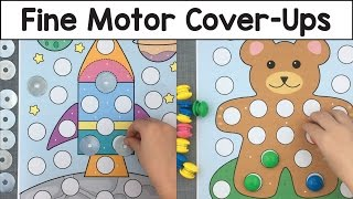 Fine Motor Cover-Ups available at: http://bit.ly/2fKIvkqThis is a preschool activity for developing fine motor skills.  For more preschool learning activities and preschool games please visit http://www.childcareland.com.Also great for child care, kindergarten, homeschool. Don't forget to subscribe to my youtube channel and sign up for my free newsletter at http://bit.ly/2ayLA6h.Please like ... comment ... and share!!childcareland.com - http://www.childcareland.comearlychildhoodprintables.com - http://www.earlychildhoodprintables.comConnect With Me:Twitter - http://www.twitter.com/childcarelandInstagram - http://www.instagram.com/shelleylovettPinterest - http://www.pinterest.com/childcareland