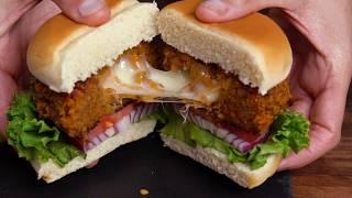 Cheese-Stuffed Doritos Burger by Tastemade