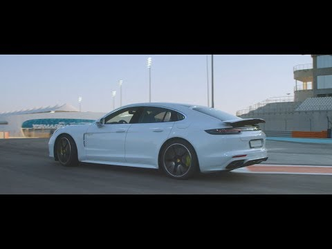 The Panamera Turbo S E-Hybrid. 6 tracks, 6 records: Yas Marina Circuit