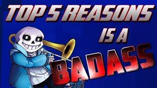 Video Top 5 Reasons Sans is a Badass MP3, 3GP, MP4, WEBM, AVI, FLV Mei 2018
