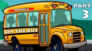 Wheels On The Bus Part 3 with 15 mins Compilation 3D Animated Songs For Kids and  Nursery Rhymes available on Rhymes HeroAlso watch gameplay and walkthrough. Enjoy this video as toys come to life! This video targets children, stimulating their imagination with the help of colorful objects. Each episode will help the child develop his or her creativity and logical reasoning. Subscribe: https://www.youtube.com/channel/UCcttXUYRoTqVN6j4oiDysHwLike: https://www.facebook.com/pages/Rhymes-Hero/1086852778013719