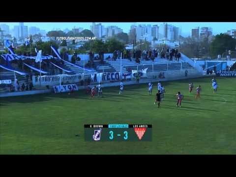 Todos los goles. Fecha 21. B Nacional 2015.