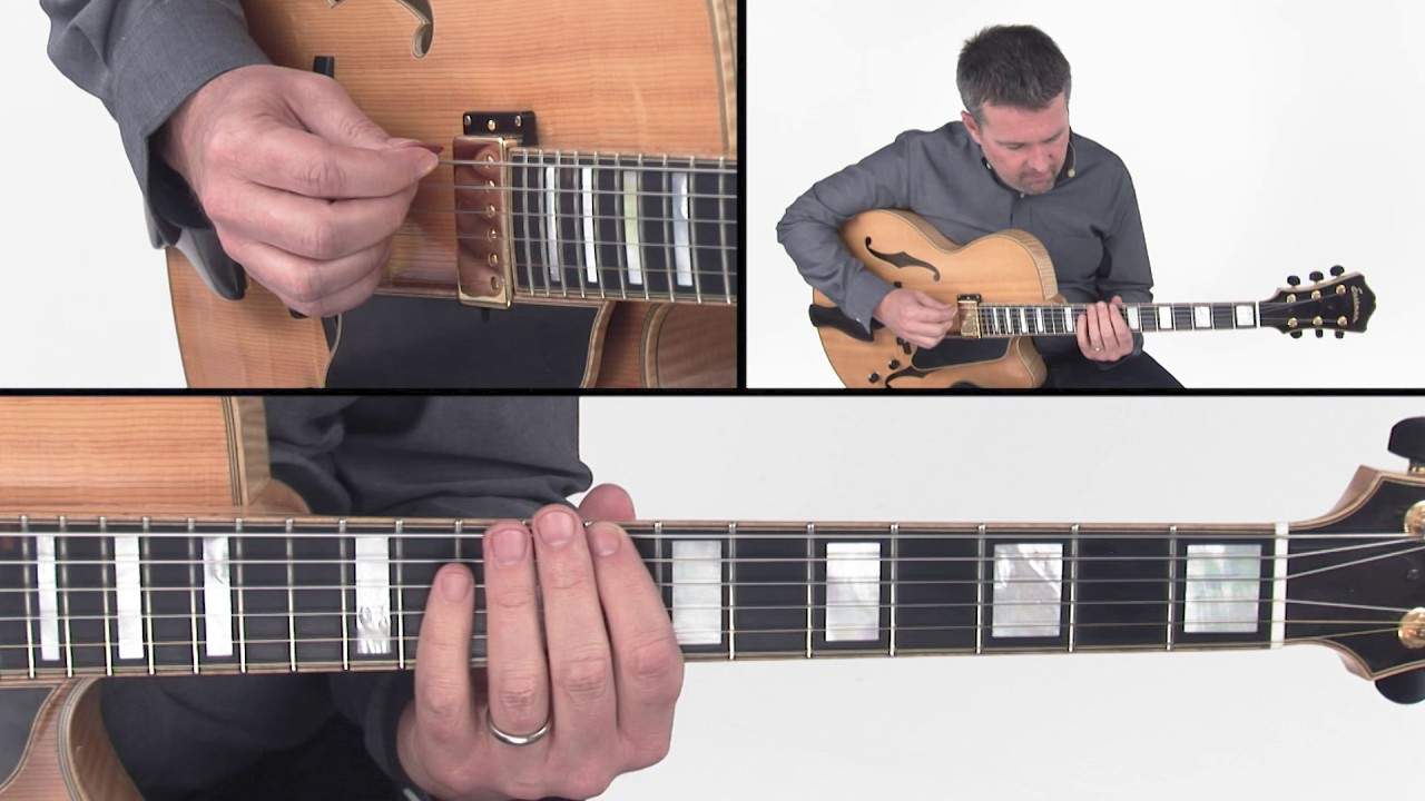 Jazz Scales Guitar Lesson – Jazz Melodic Minor Scale – Tom Dempsey