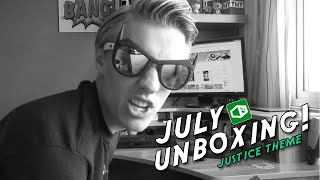 1UP BOX - JULY UNBOXING! - #Justice