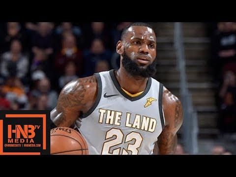 Cleveland Cavaliers vs San Antonio Spurs Full Game Highlights / Feb 25 / 2017-18 NBA Season (видео)