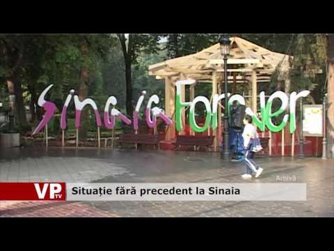 Situație fără precedent la Sinaia