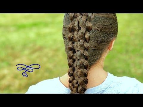 Braid hairstyles - Reversed Loop Braid